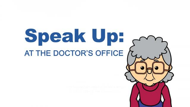 Speak Up At The Doctors Office