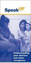 Understanding Your Doctors and Other Caregivers brochure
