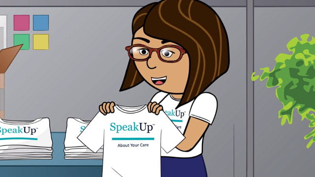 About your care Speak Up video