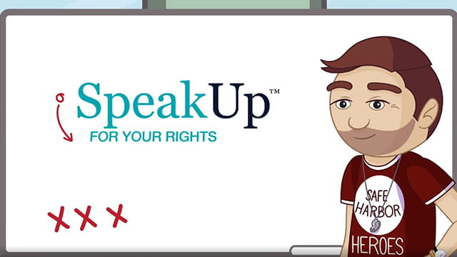 Speak Up, For your Rights