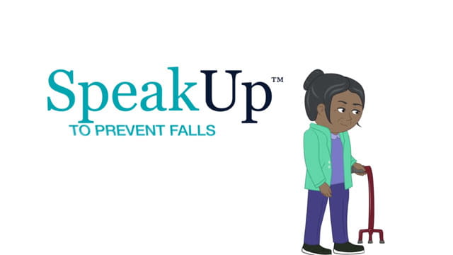 speak up preventing falls