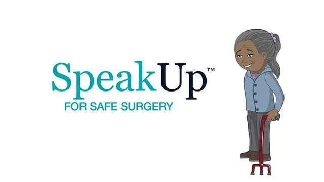 Speak Up For Safe Surgery