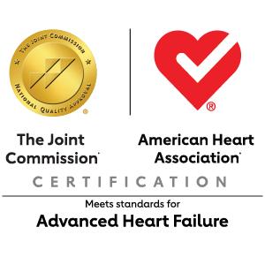 TJC and AHA Advanced Heart Failure logo