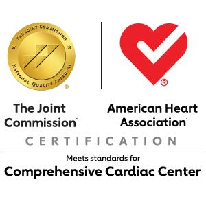 TJC and AHA Comprehensive Cardiac Center logo