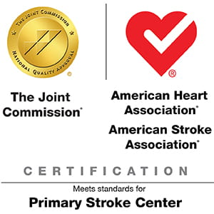 TJC and AHA Primary Stroke Center