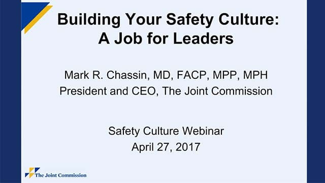 Build Safety Culture Webinar thumbnail.