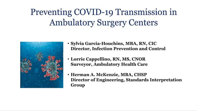 COVID 19 AMB surgery centers