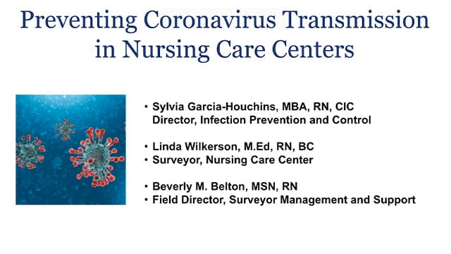 Preventing Coronavirus Transmission in Nursing Care Centers