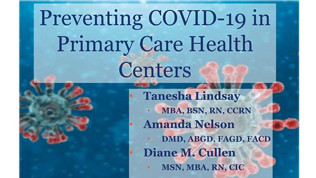Preventing COVID-19 in Primary Care Health Centers